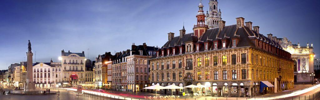 Lille, prestigious universities, an characteristic architecture !