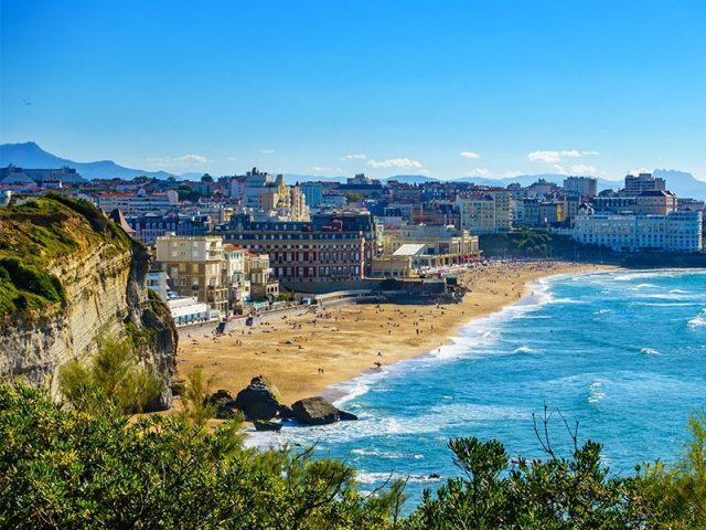 Nos chasseurs à Biarritz