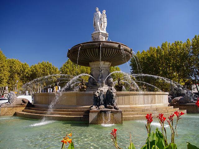 Nos chasseurs à Aix-en-Provence