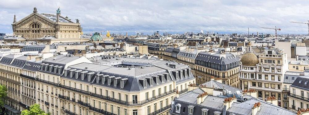 Recherche appartement avec vue sur les toits de Paris