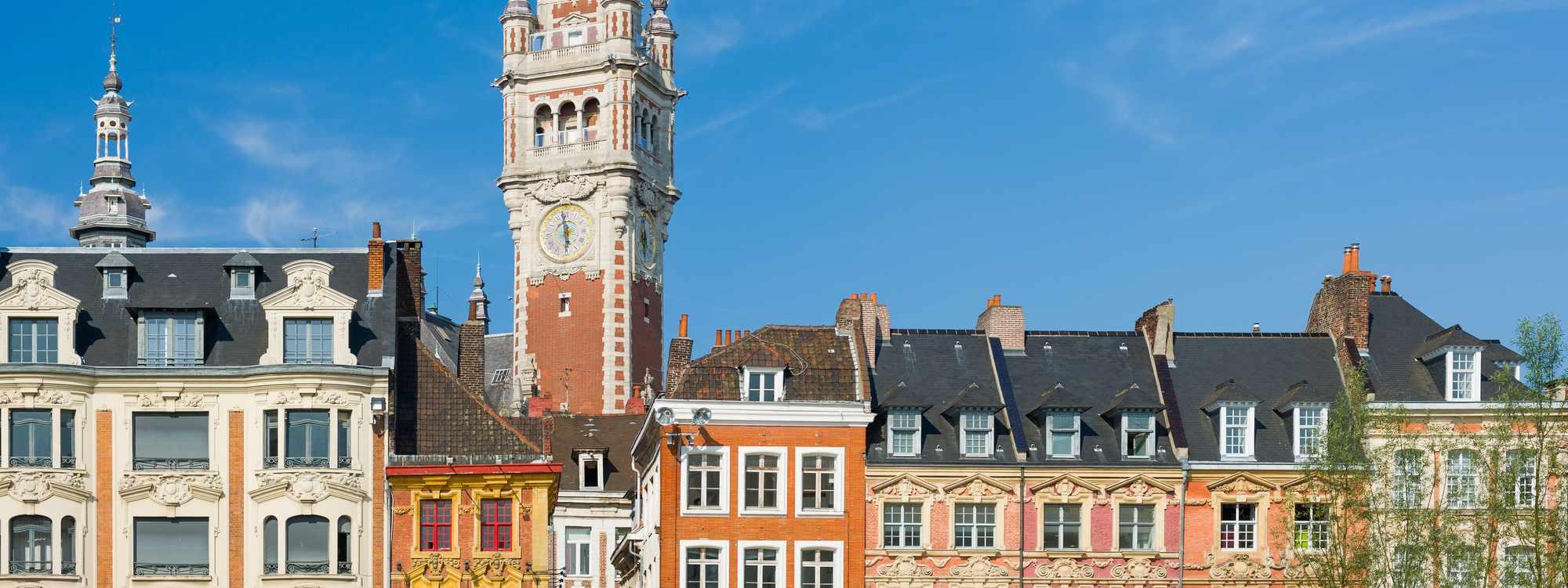 Recherche appartement ou maison à Lille