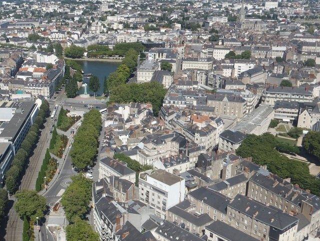 Vue de Nantes un marché immobilier dynamique